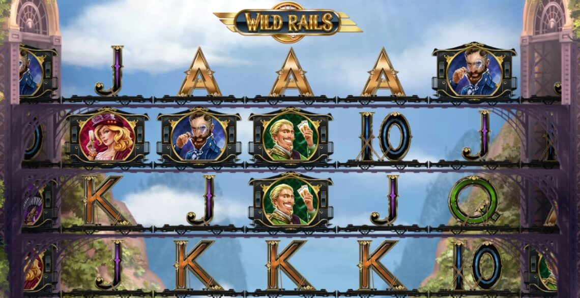 Слот Wild Rails